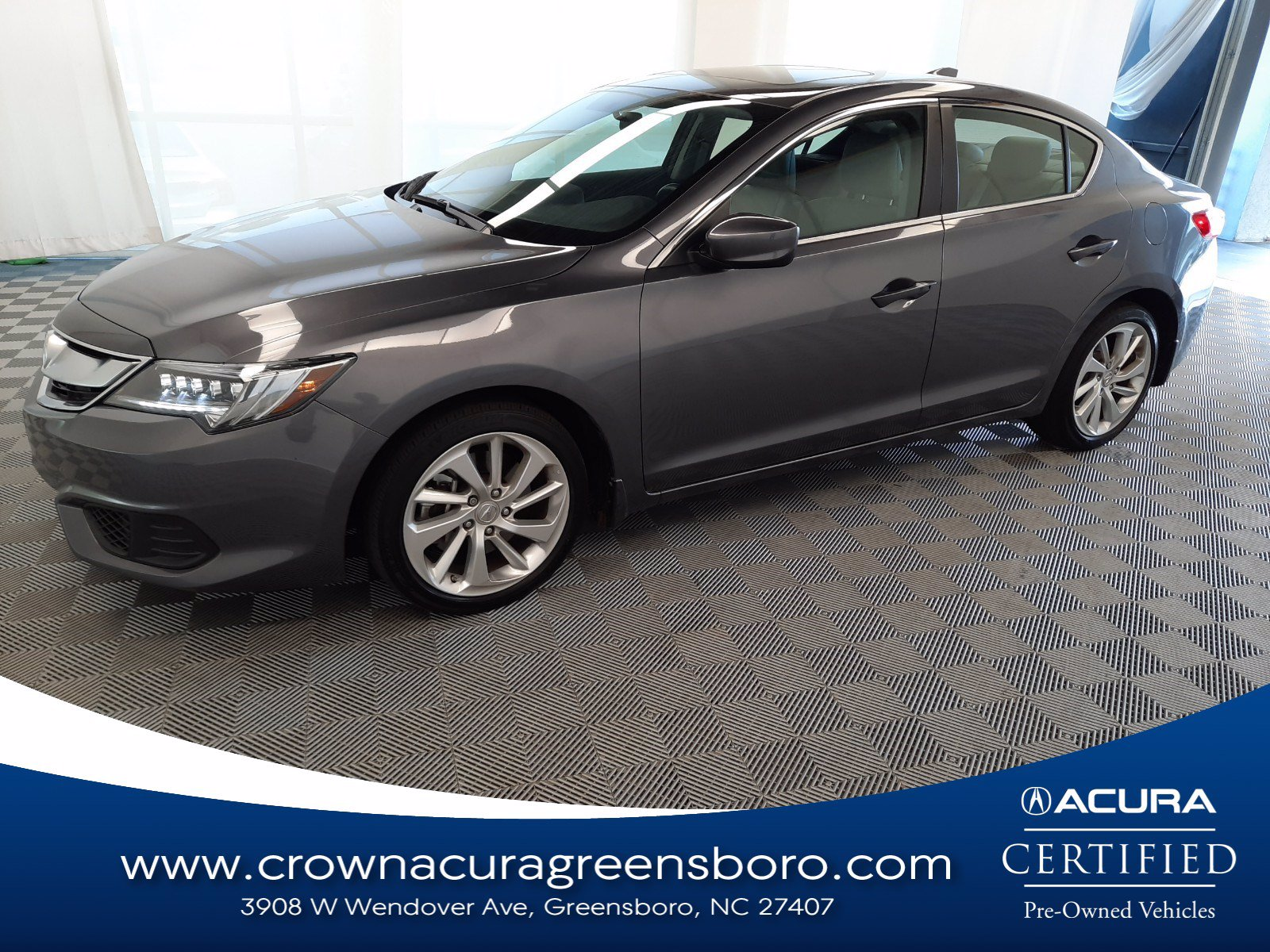 Photo Certified 2017 Acura ILX Base CERTIFIED in Greensboro NC