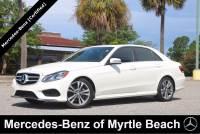 Used 2016 Mercedes-Benz E-Class Sedan For Sale in Myrtle Beach, South Carolina