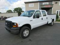 Used 2007 Ford F-350 4x4 Crew-Cab Service Utility Truck
