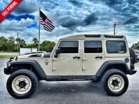 Used 2017 Jeep Wrangler Unlimited GOBI DEFENDER SAFARI CUSTOM LIFTED BLACK RHINO