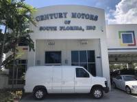 2009 Ford Econoline Cargo Van Commercial 1-Owner CarFax Low Miles No Windows