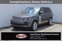 Certified Used 2017 Land Rover Range Rover HSE in Houston