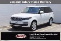 Certified Used 2019 Land Rover Range Rover V8 Supercharged SWB in Houston