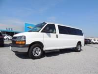 Pre-Owned 2019 Chevrolet Express Passenger 3500 Extended Wheelbase Rear-Wheel Drive 1LT VIN 1GAZGPFG2K1304999 Stock Number 7845P