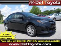 Certified Pre-Owned 2017 Toyota Corolla For Sale in Thorndale, PA | Near Malvern, Coatesville, West Chester & Downingtown, PA | VIN:2T1BURHE3HC940277