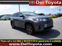Used 2018 Toyota Highlander LE For Sale in Thorndale, PA | Near West Chester, Malvern, Coatesville, & Downingtown, PA | VIN: 5TDBZRFH8JS800804