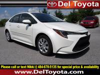Used 2020 Toyota Corolla LE For Sale in Thorndale, PA | Near West Chester, Malvern, Coatesville, & Downingtown, PA | VIN: JTDEPRAE4LJ014434
