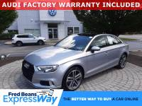 Used 2017 Audi A3 For Sale at Fred Beans Volkswagen | VIN: WAUB8GFFXH1019650