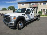Used 2012 Ford F-550 4x4 Ex-Cab 6.7 Flat-Bed