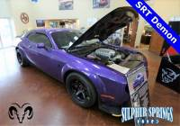 Used 2018 Dodge Challenger SRT Coupe