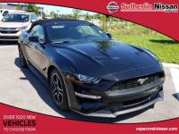 Used 2019 Ford Mustang EcoBoost Convertible