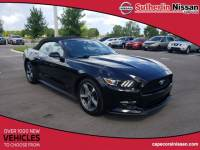 Used 2017 Ford Mustang V6 Convertible