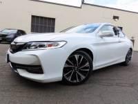 Certified 2017 Honda Accord Coupe EX-L CVT