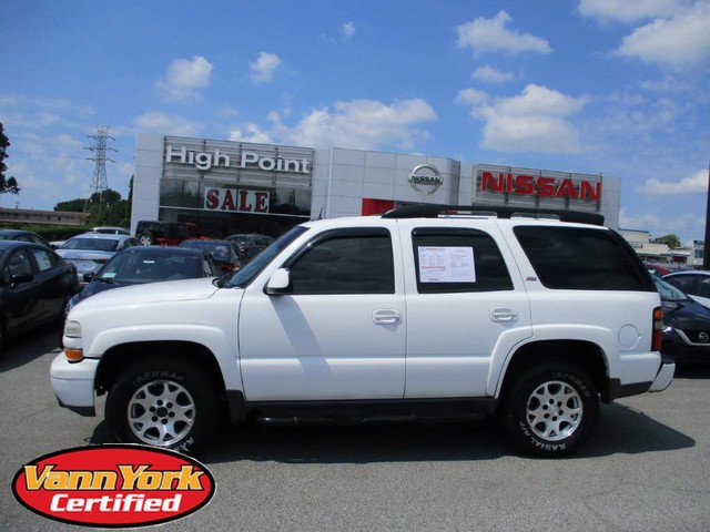 Photo Used 2005 Chevrolet Tahoe Z71 SUV For Sale in High-Point, NC near Greensboro and Winston Salem, NC