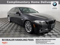 Certified Used 2016 BMW 528i in Denver, CO