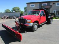 Used 2000 Ford F-350 4x4 Plow/Dump Truck