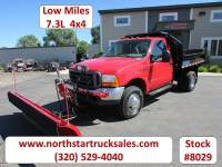 Used 2000 Ford F-350 7.3 4x4 Plow Dump Truck