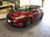 Ruby Red Metallic Tinted Clearcoat Used 2016 Ford Focus 4dr Sdn SE For Sale in Moline IL   S201292A