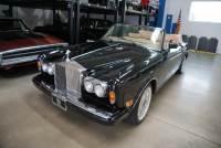 1986 Rolls-Royce Corniche II Drop Head Coupe with 62K original miles