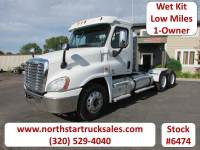 Used 2012 Freightliner Cascadia 6x4 Day-Cab Semi Cab Chassis