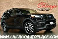 2020 Ford Explorer ST - 3.0L ECOBOOST V6 ENGINE 4 WHEEL DRIVE 1 OWNER NAVIGATION TOP VIEW CAMERAS BLACK LEATHER HEATED/COOLED SEATS KEYLESS GO 3RD ROW SEATING