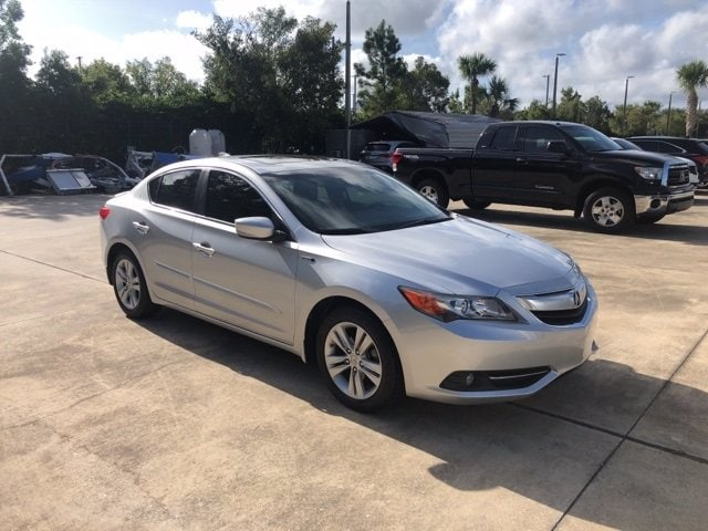Photo Used 2013 Acura ILX Hybrid For Sale in Jacksonville at Duval Acura  VIN 19VDE3F70DE300166