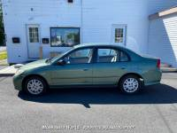 2004 Honda Civic LX Sedan AT with Front Side Airbags 4-Speed