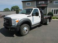 Used 2011 Ford F-450 4x4 Flat-Bed Truck