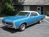 1967 Pontiac GTO - CONVERTIBLE - TYROL BLUE - 400 V8 AUTO TRANS -