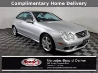 Pre-Owned 2003 Mercedes-Benz CLK-Class Base Coupe in Denver