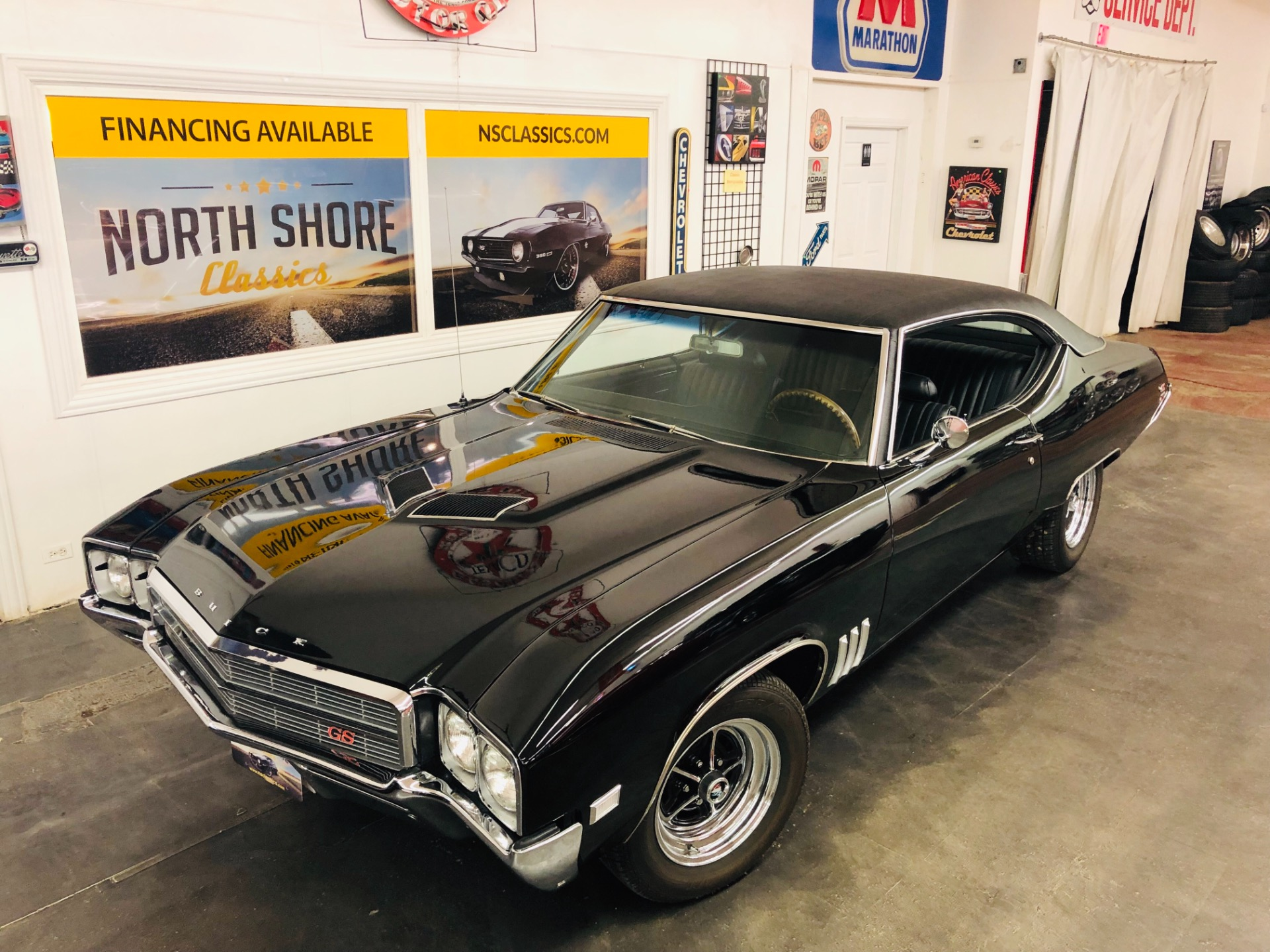 Photo 1969 Buick Skylark - GS STAGE ONE TRIBUTE - FRAME OFF RESTORED - MIRROR FINISH BLACK - SEE VID