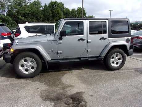 Photo Certified Used 2015 Jeep Wrangler Unlimited Freedom Edition in Gaithersburg