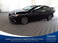 Certified 2018 Acura TLX w/Technology Pkg in Greensboro NC