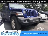 Used 2019 Jeep Wrangler For Sale at Fred Beans Volkswagen | VIN: 1C4HJXDG0KW538116