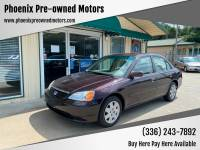 2001 Honda Civic EX 4dr Sedan
