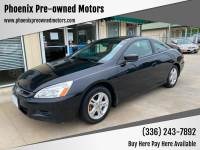 2006 Honda Accord EX 2dr Coupe 5A w/Leather