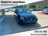 2006 Nissan Altima 2.5 S 4dr Sedan w/Automatic