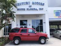 2002 Chevrolet Tahoe Commercial 1-Owner 4x4 4WD Vinyl Seats Power Windows