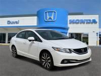 Used 2015 Honda Civic For Sale in Jacksonville at Duval Acura | VIN: 19XFB2F90FE020285