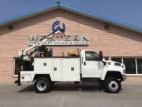 2007 GMC C5500 4x4 Mechanics Truck