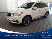 Pre-Owned 2017 Acura MDX w/Advance Pkg in Greensboro NC