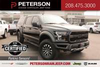 2020 Ford F-150 Raptor 4WD Supercrew 5.5 Box Truck