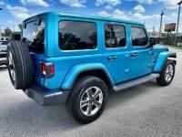 Used 2020 Jeep Wrangler Unlimited BIKINI TURBO SAHARANAV ALPINE HARDTOP