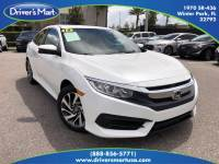 Used 2018 Honda Civic EX For Sale in Orlando, FL (With Photos) | Vin: 19XFC2F77JE034351