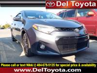 Used 2015 Toyota Corolla S Plus For Sale in Thorndale, PA | Near West Chester, Malvern, Coatesville, & Downingtown, PA | VIN: 2T1BURHE7FC425859