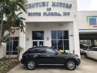2008 INFINITI FX35 1-Owner Clean CarFax Leather Nav Sunroof