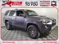 Certified 2018 Toyota 4Runner