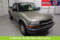 Used 2000 Chevrolet S-10 For Sale at Duncan's Hokie Honda | VIN: 1GCDT19W8YK297749