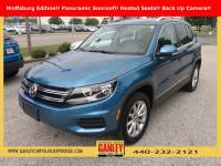 Used 2017 Volkswagen Tiguan Wolfsburg SUV For Sale in Bedford, OH