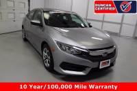Used 2016 Honda Civic Sedan For Sale at Duncan's Hokie Honda | VIN: 19XFC2F53GE058072